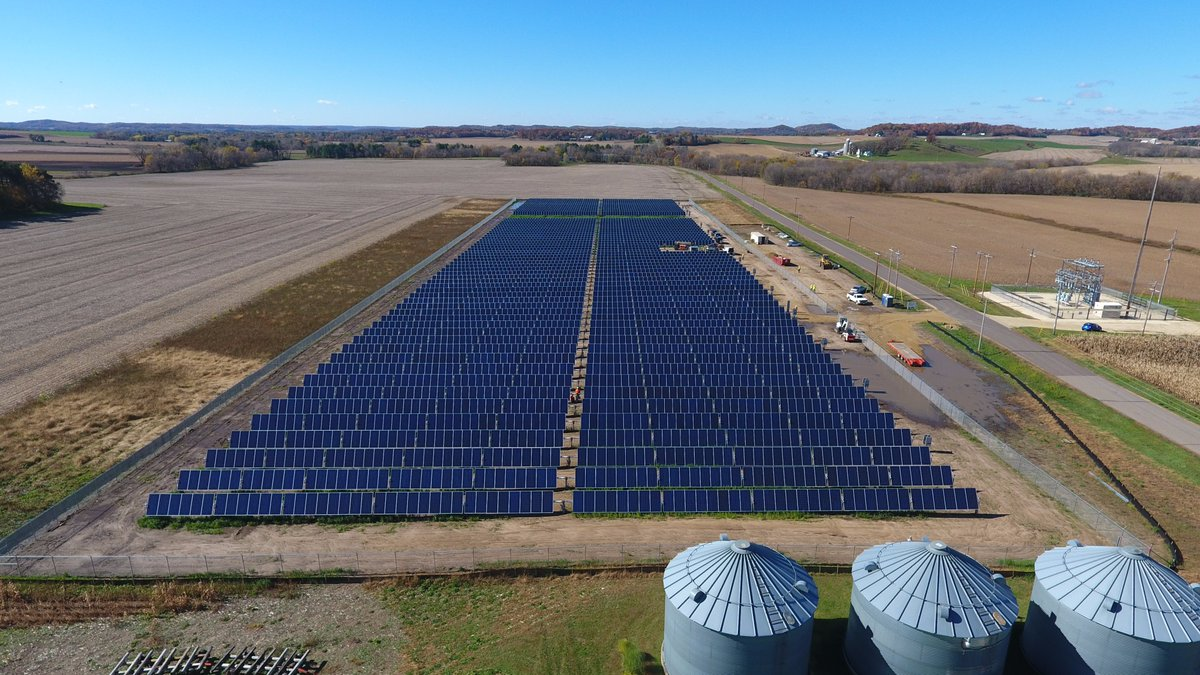 SunDEC Solar Aerial Photo